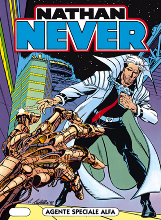 Nathan Never Comic