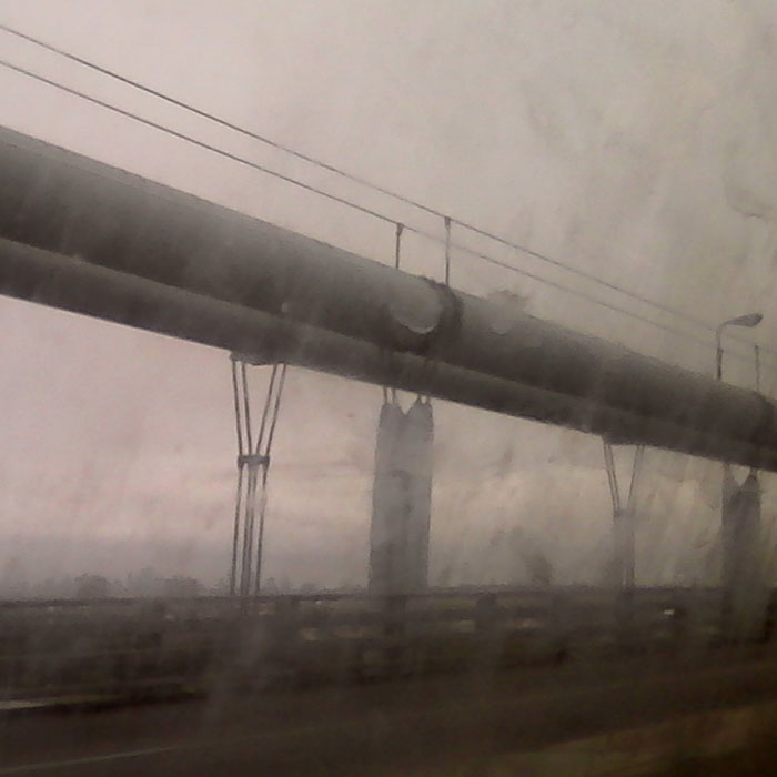Verrazzano-Narrows Bridge, New York. During an apocalypse.