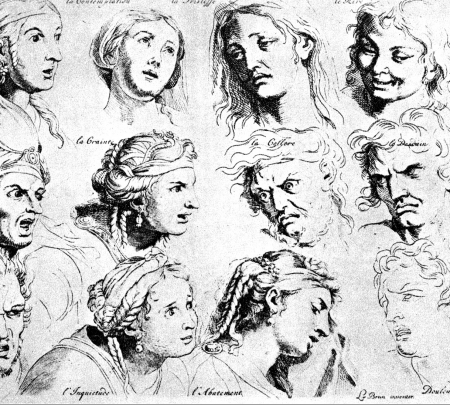 Charles Le Brun, The Expressions, Wikimedia Commons
